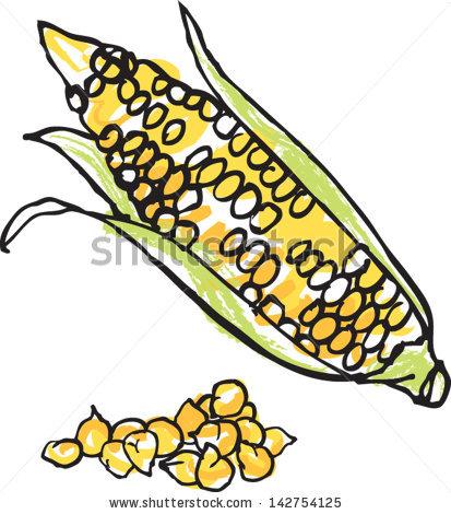 Corn Kernels Stock Vectors, Images & Vector Art.