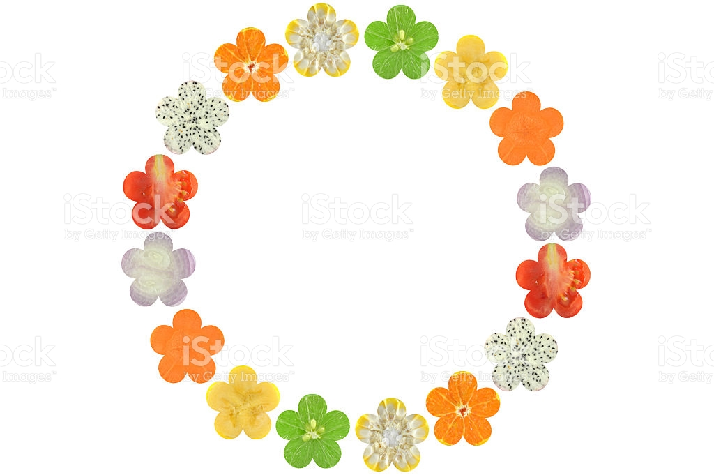 Flower Shaped Fruit And Vegetable stock photo 540594748.