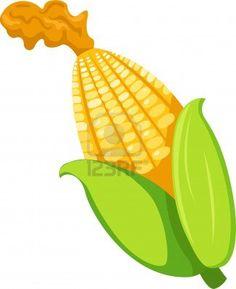 Maize varieties clipart #4