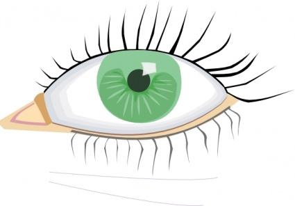 Eye Art Clip.