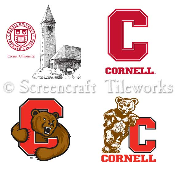 Cornell University Logo Set.