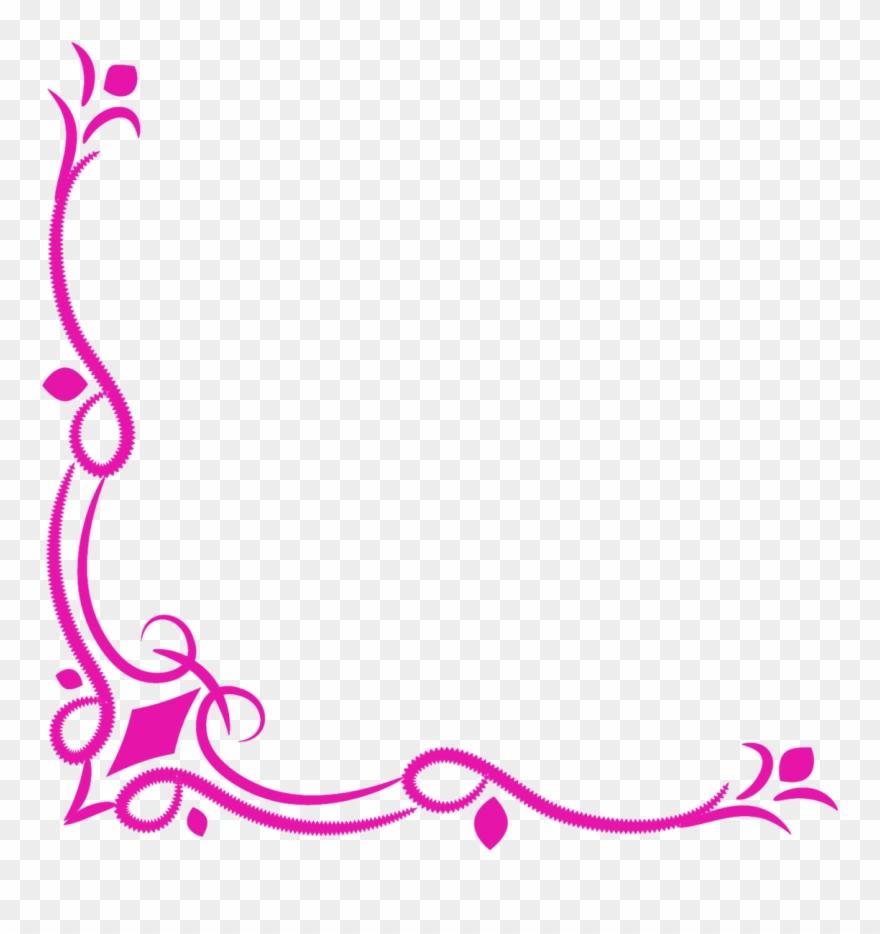 Free Download Wedding Corner Border Png Clipart Decorative.