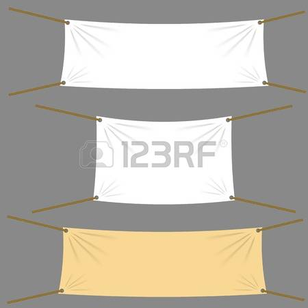 91 Blank Vinyl Banner Stock Vector Illustration And Royalty Free.