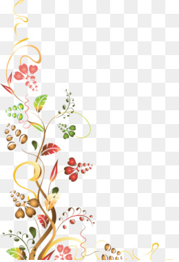 Corner Flowers PNG and Corner Flowers Transparent Clipart.
