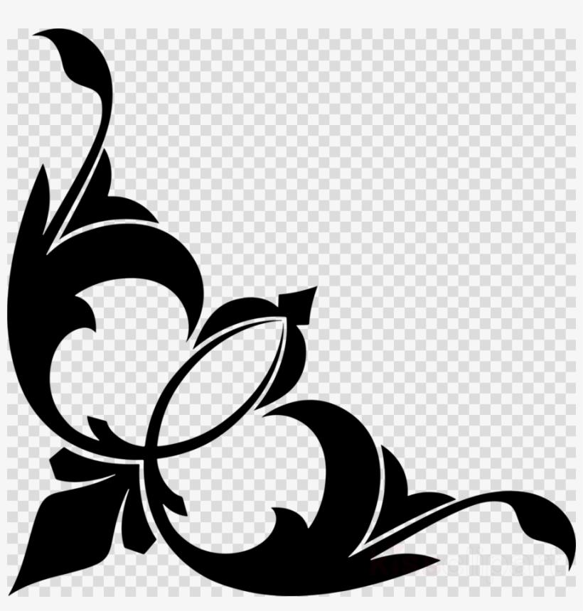 Download Transparent Corner Ornament Png Clipart Decorative.