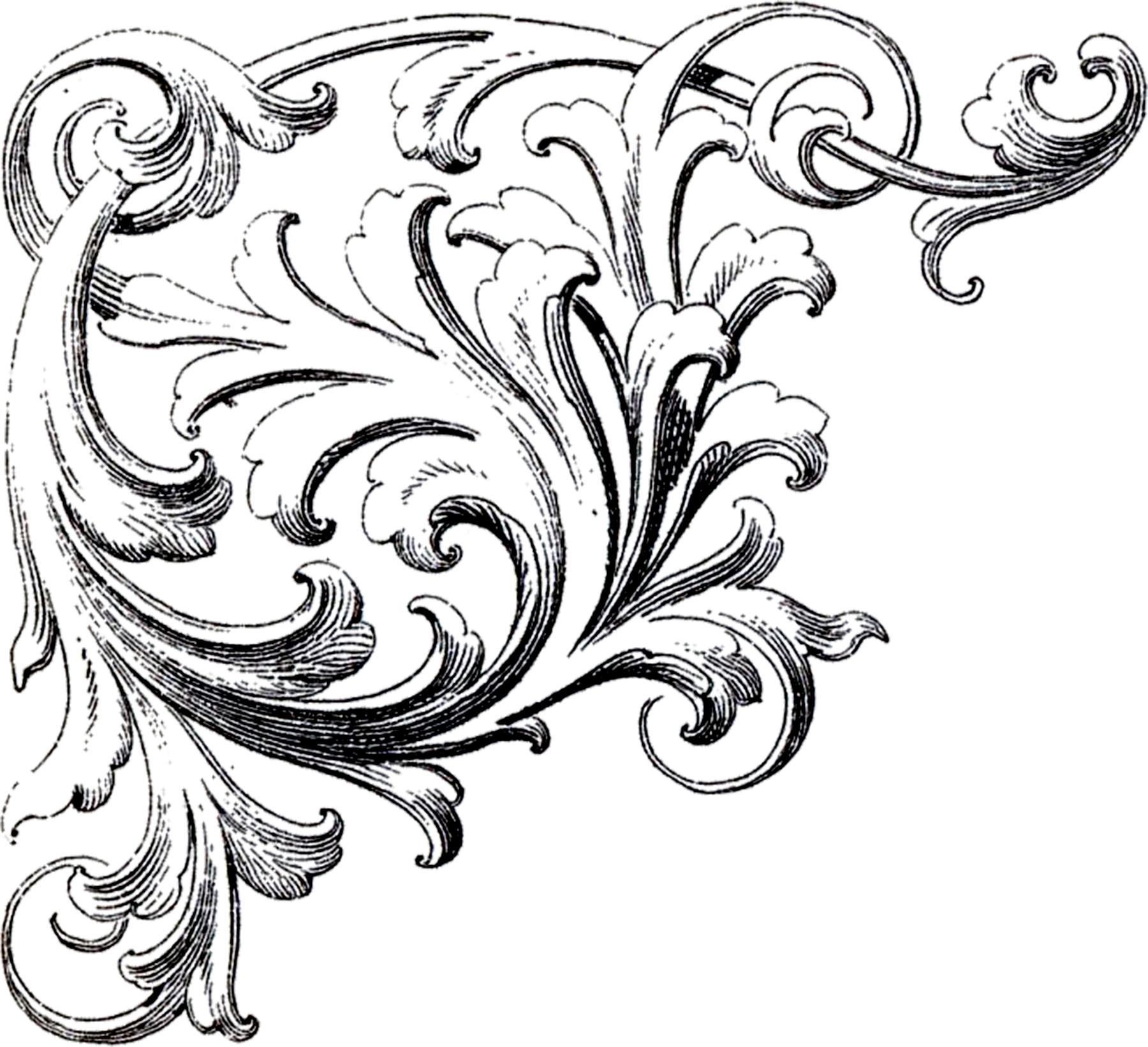 Clipart Free Images Corner Ornament Best #27866.