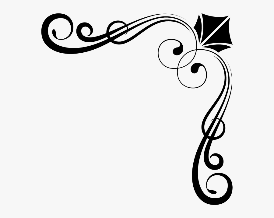 Corner Ornaments Png , Free Transparent Clipart.