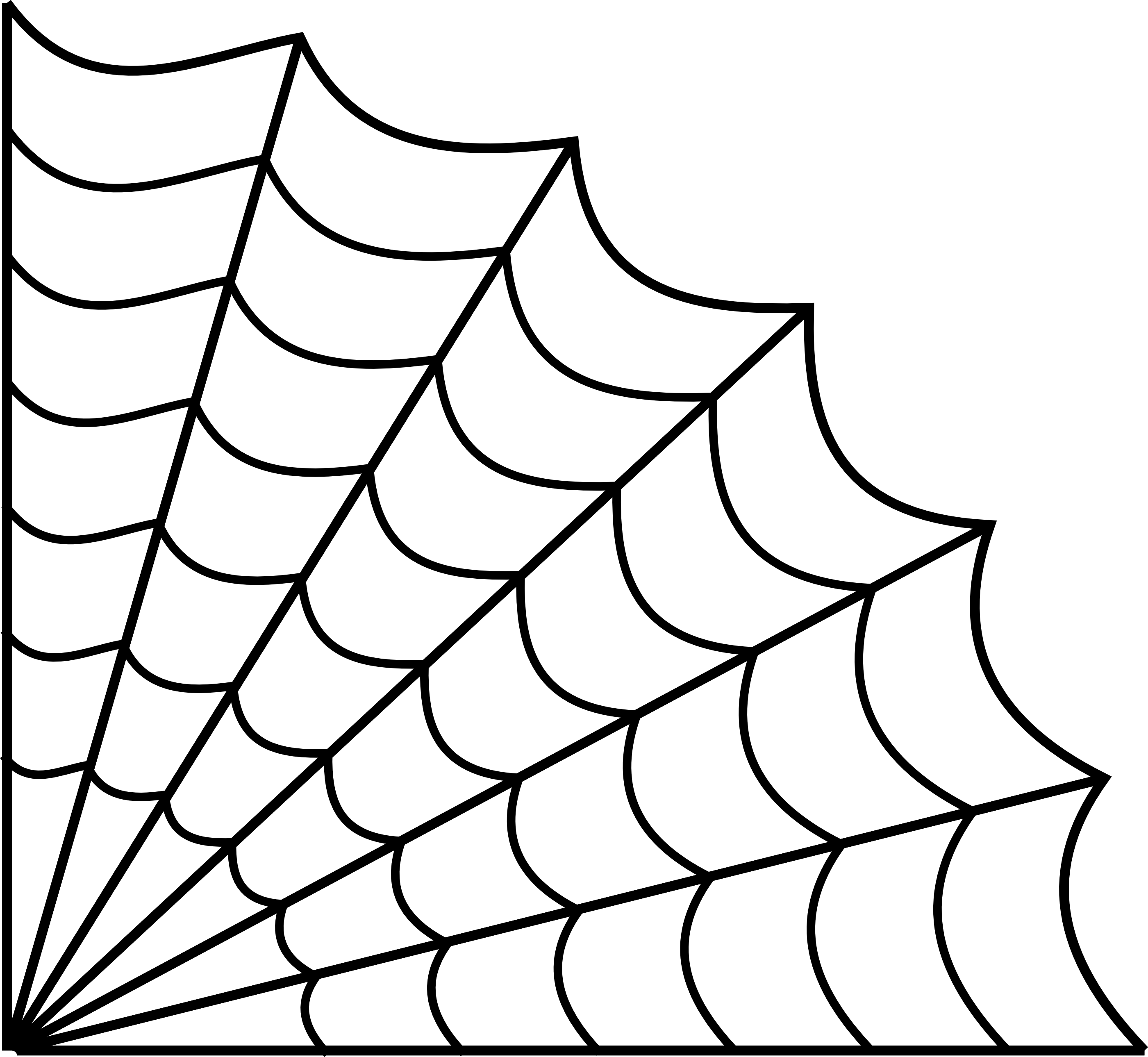 Corner Spider Web.