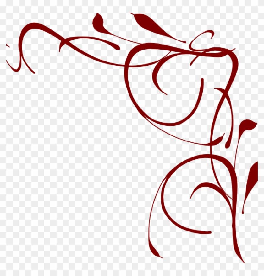 Corner Swirls Corner Swirl Clip Art At Clker Vector.