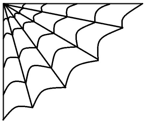 Spider web clipart halloween images.