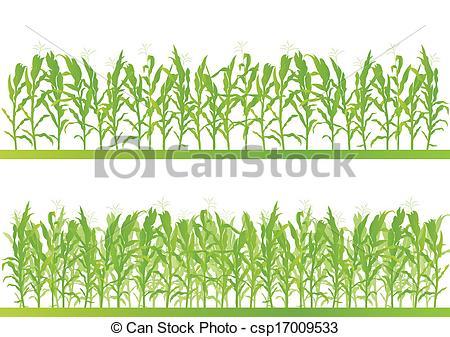 Maize fields clipart #12