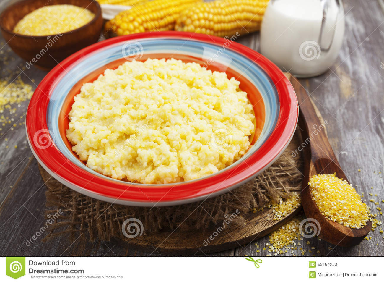 Corn Meal Clipart.