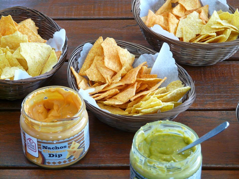 Free photo: Tortilla Chip, Cornmeal Salzgebäck.