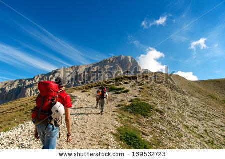 Apennines Hike Stock Photos, Royalty.