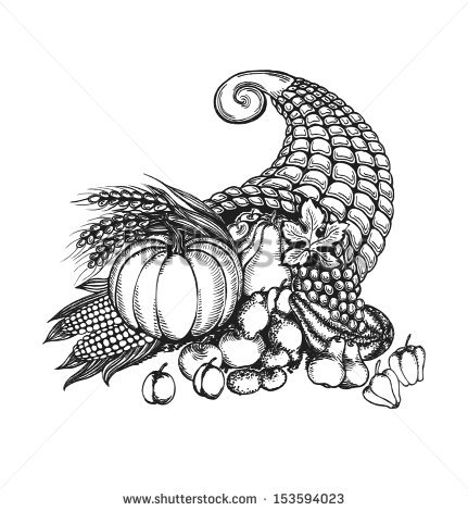 Cornucopia Stock Images, Royalty.