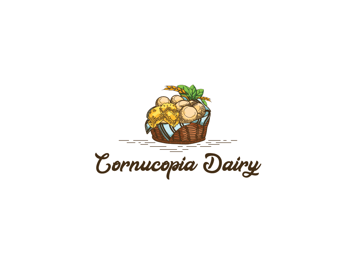 Elegant, Serious, Cheese Making Logo Design for Cornucopia.
