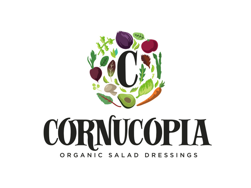 Cornucopia logo by eric wedum on Dribbble.