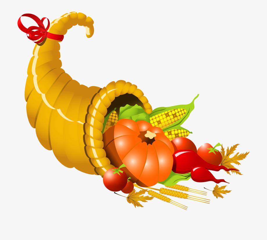 Thanksgiving Cornucopia Png Image Transparent Free.