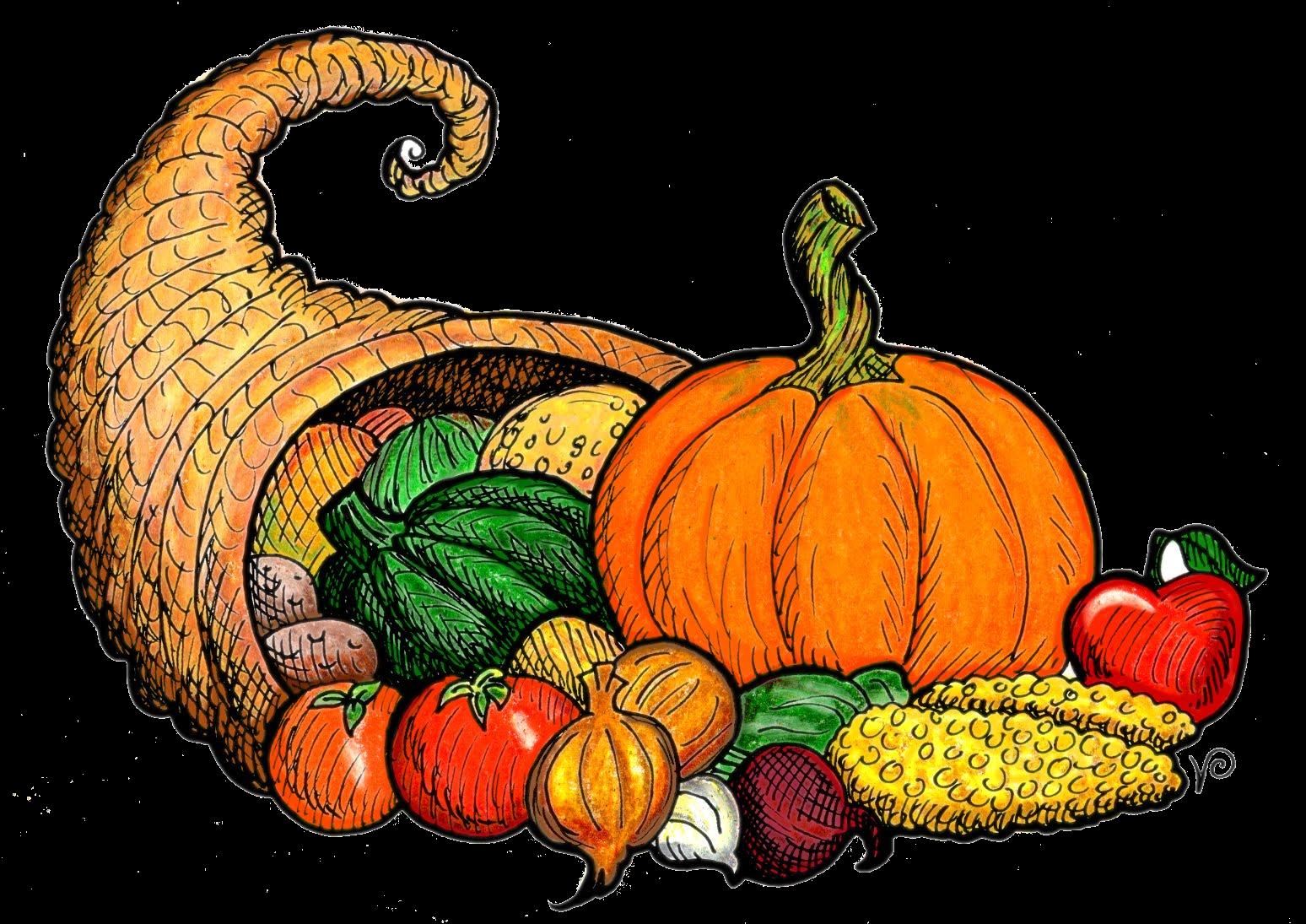 Cornucopia Free Thanksgiving Pictures Clip Art Transparent Png 2.