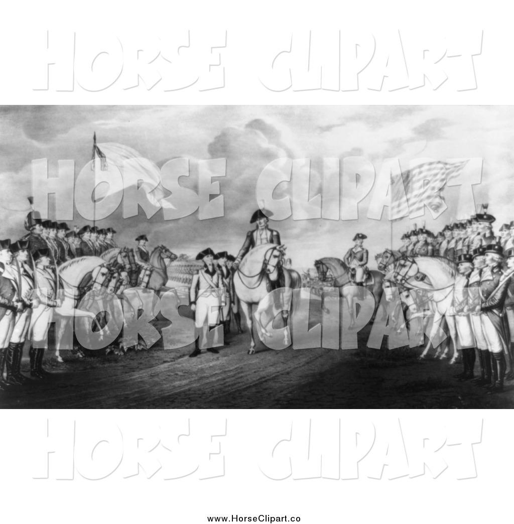 Royalty Free American Revolutionary War Stock Horse Designs.