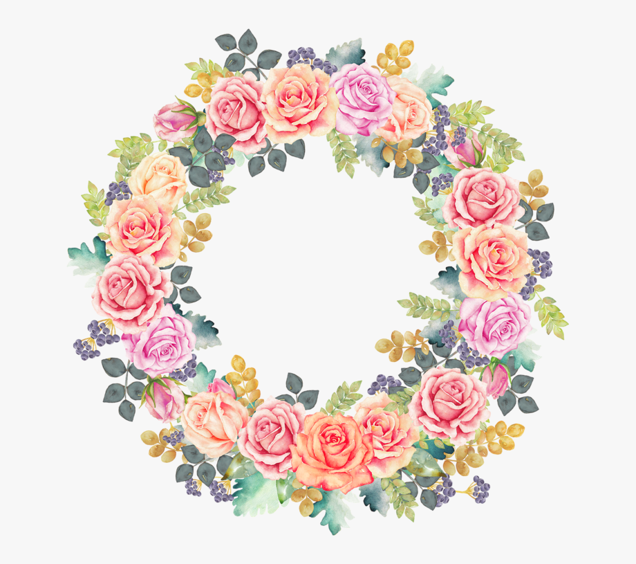Dreaming Rose Garden Wreath Auraandthecat Png Pinterest.