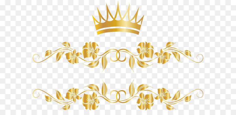 Coroa De Ouro Da Árvore De Vime.