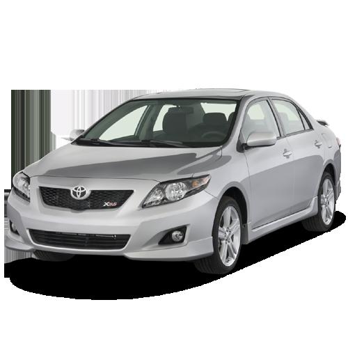 Sedan 2009 Toyota Corolla PNG Image.