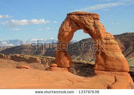 Corona Arch Sunset Moab Utah Stock Photo 94624879.
