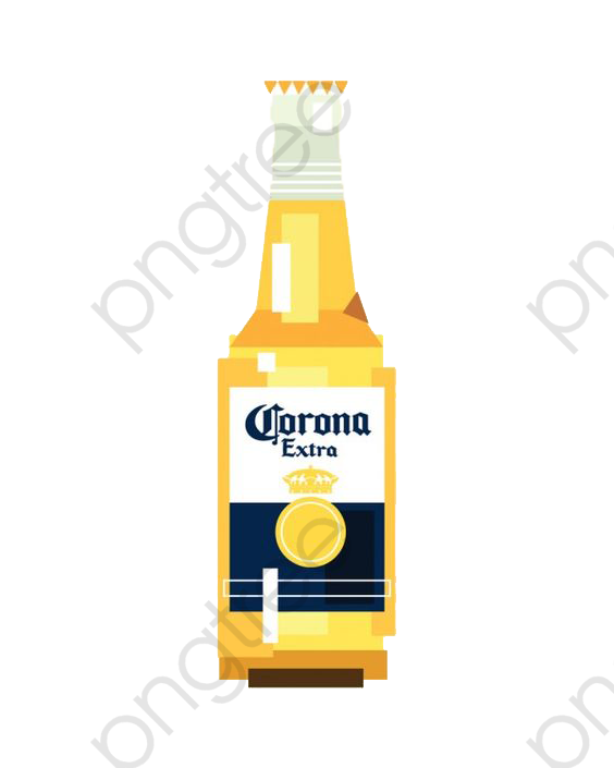Block Face Collage Corona, Beer, Creative, Vector PNG Transparent.