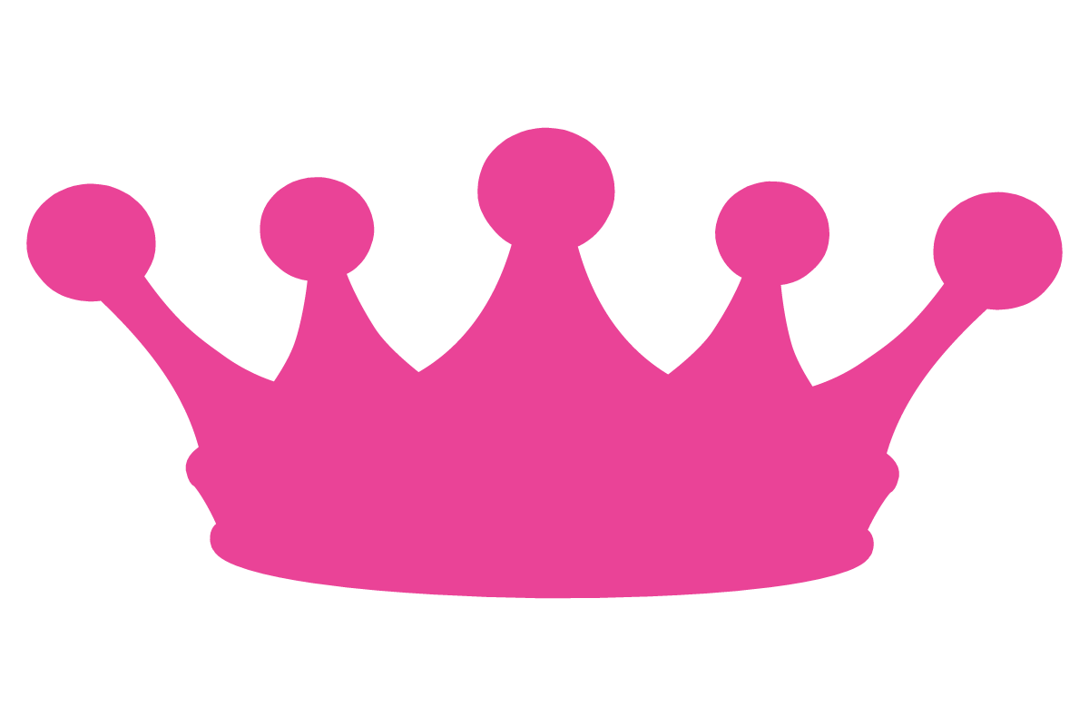 princess crown clipart vector #13