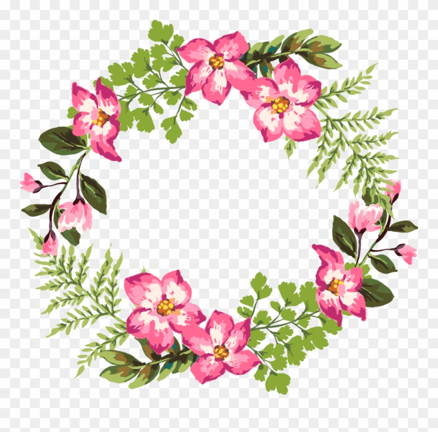 Clipart Flower Garland 5.