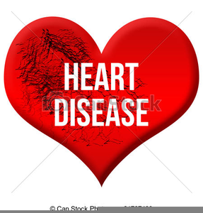 Coronary Heart Disease Clipart.