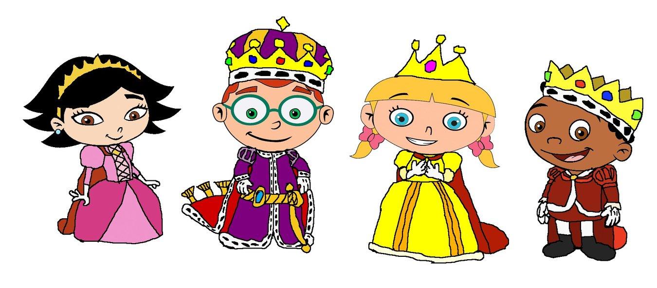 Little queen clipart.