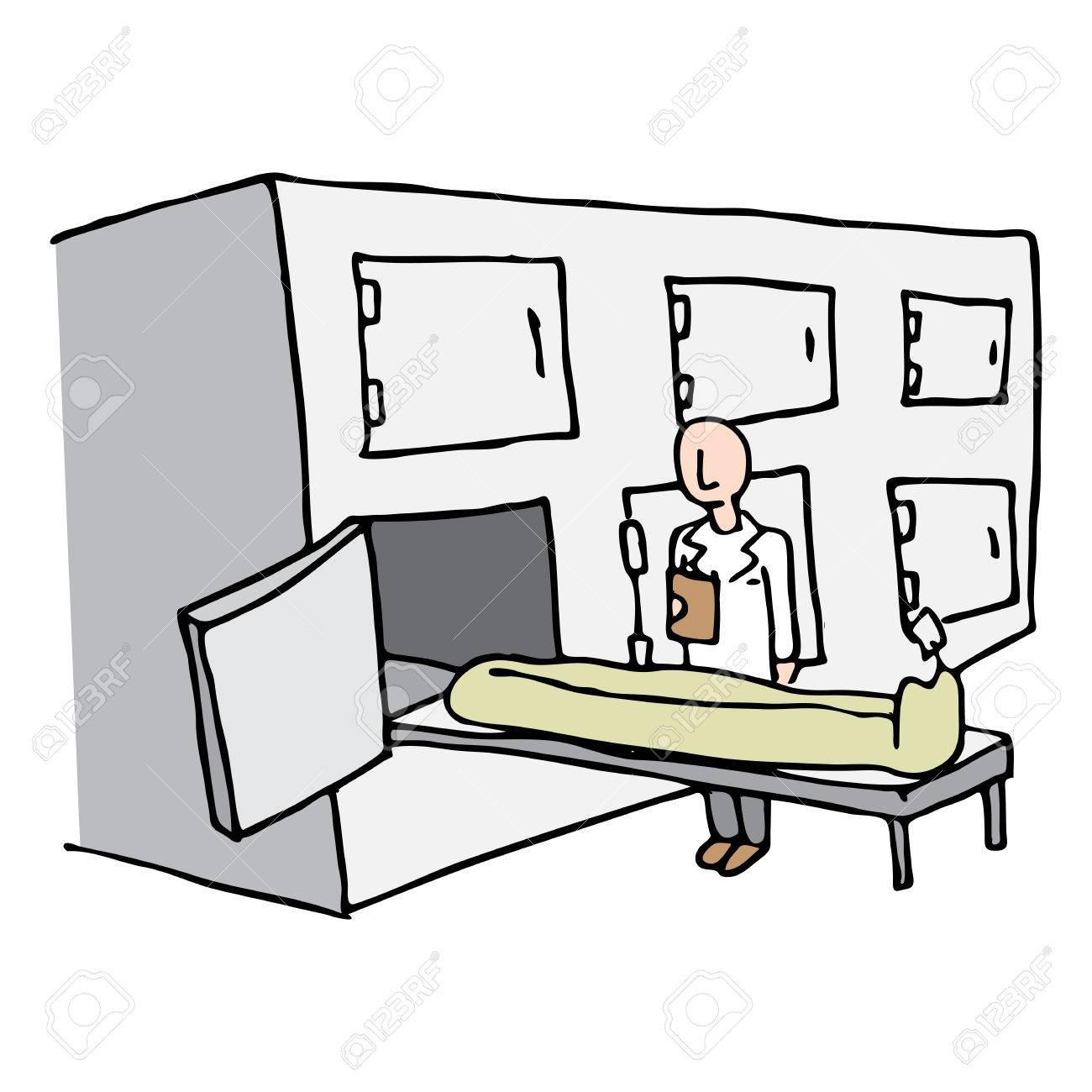 An image of a Coroner Morgue Room..