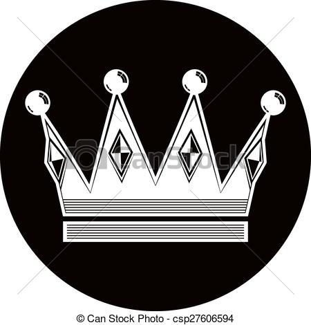 EPS Vectors of 3d vintage crown, luxury coronet illustration.