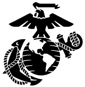 Clipart marine corps emblem.