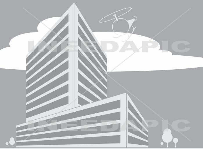 Corporate Building Clip Art.
