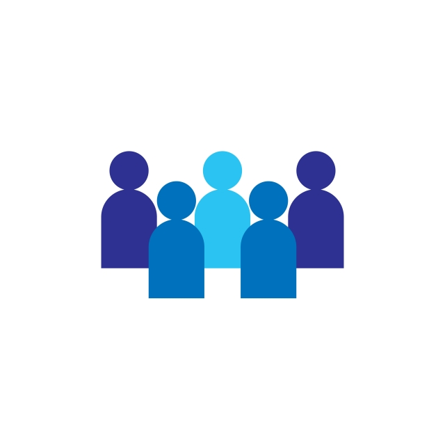 People Icon Business Corporate Team Working Together Social Network.