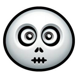 Corpse Head Icon, PNG ClipArt Image.