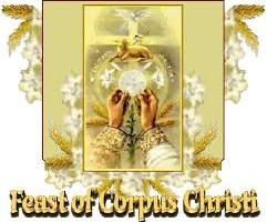 2019 Corpus Christi Procession Sunday, June 23rd following.