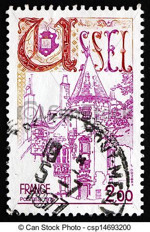 Photographies de affranchissement, timbre, 1976, Correze, ussel.