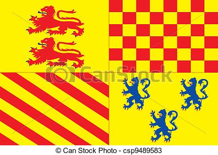 Vectors of Correze dep flag.