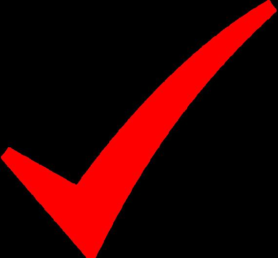 Correct Tick Symbol.
