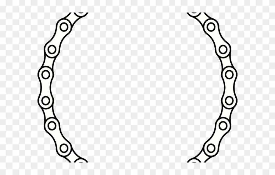 Cycling Clipart Chain.