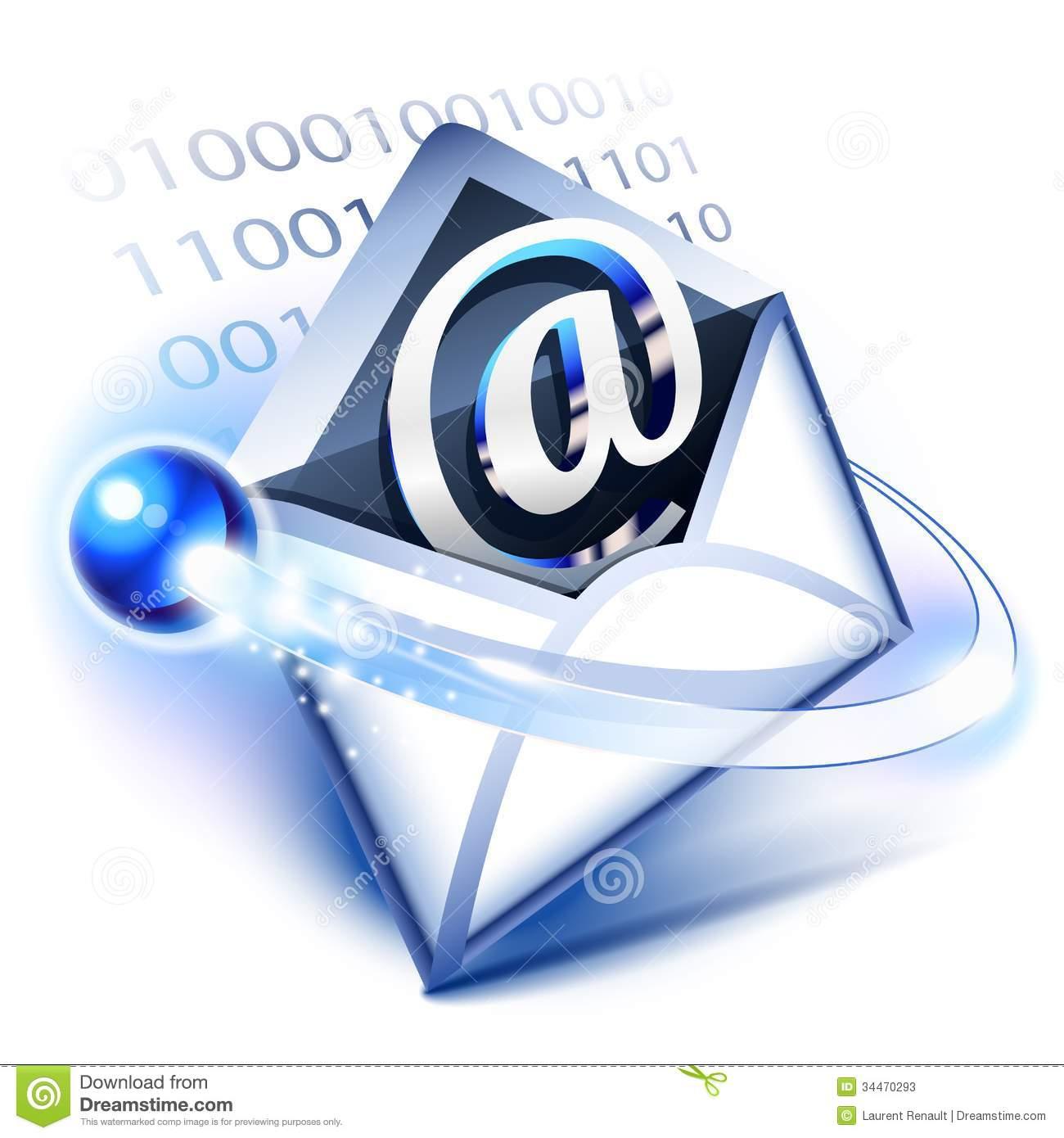 Correspondence Clip Art.