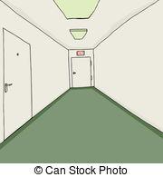 Office corridor Clip Art and Stock Illustrations. 2,077 Office.