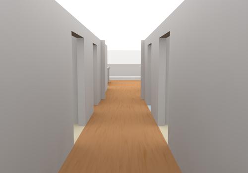 Corridor clipart.