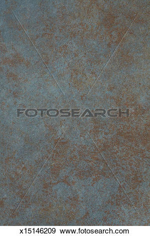 Stock Photograph of Corroded copper background x15146209.