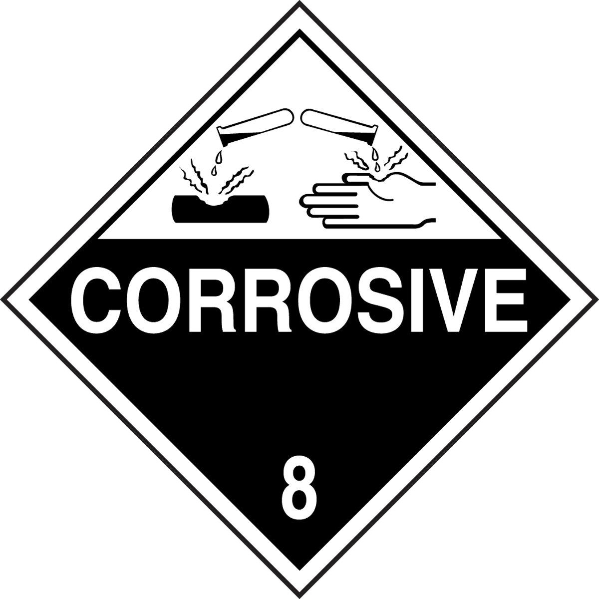 Corrosive.
