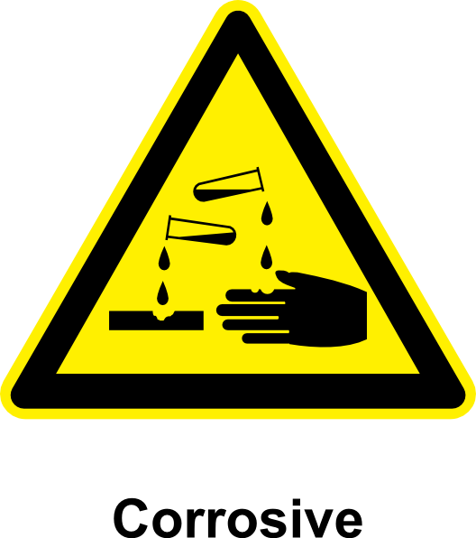 Sign Corrosive clip art Free Vector / 4Vector.